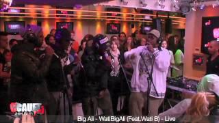 WatiB feat Big Ali sur NRJ (Cauet)