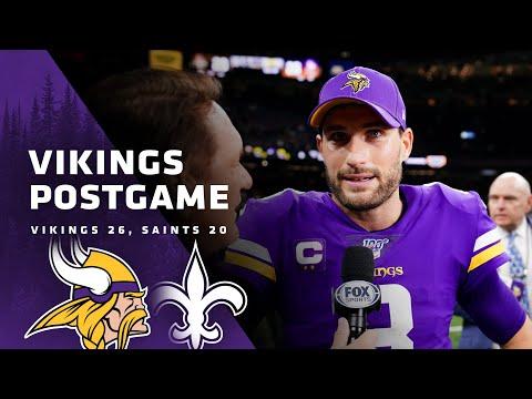 Vikings Postgame: Minnesota Vikings-New Orleans Saints