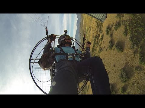 51.5 Mile Paramotor trip!! - Powered Paragliding is your personal flying ATV