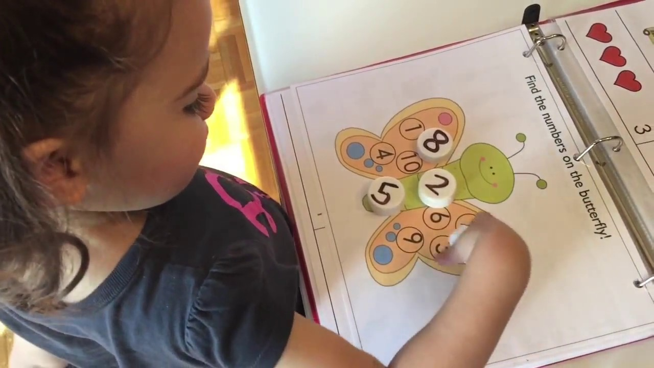 Preschool Learning Folders Kindergarten Prep YouTube