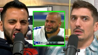 Injured Dak Prescott Won't Be Re-signed By Cowboys | Andrew Schulz and Akaash Singh