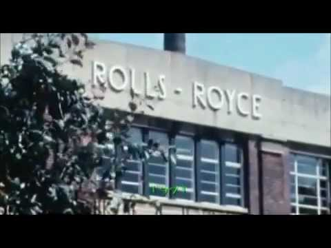 Documentary Rolls Royce - How To Build A Jumbo Jet Engine BBC