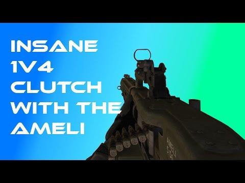 Insane Ameli 1v4 To Stay In The Game!! (Volume Warning)