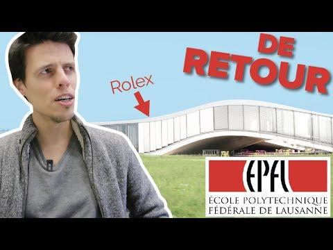 EPFL ME REVOILÀ !! MON PARCOURS !!