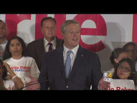 Gov. Charlie Baker Wins GOP Vote, To Face Gonzalez In Fall
