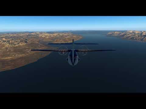 Evektor EV-55 (Auctus Delineations)  – Arctic Series Episode 12 – (ENSB + ENPY) – X-Plane 11.11