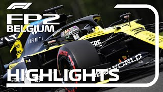 2020 Belgian Grand Prix: FP2 Highlights