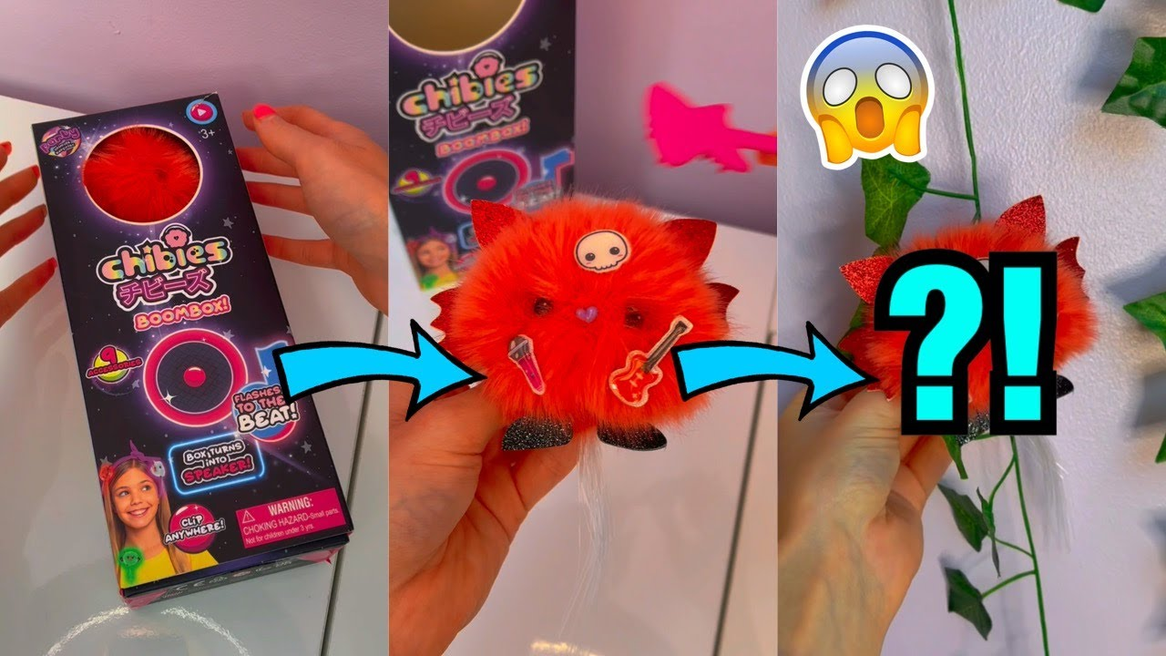 UNBOXING A MYSTERY CHIBIES BOOMBOX TOY?!😱*the most satisfying asmr EVER!!*😍 #Shorts