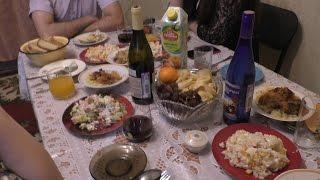 подготовка праздничного стола + рецепты 5 блюд