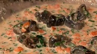 Cooking Escargot : Cooking Fresh With Seafood