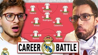 ⚔️ 1 VS 1 CAREER BATTLE CHALLENGE ZW VS GIUSE360 con il REAL MADRID!