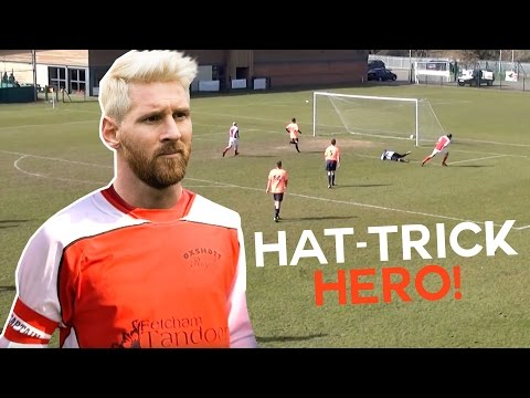 Hat-Trick Hero? | Sunday League Messi ft. Kammy, Deeney and Jim White