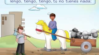 Caballito Blanco - A traditional Spanish poem and song - Calico Spanish Songs for Kids