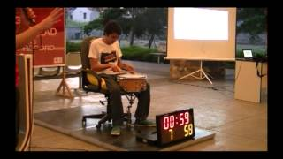 BATENG ARDE LONGEST INDIVIDUAL DRUMROLL HIGHLIGHTS