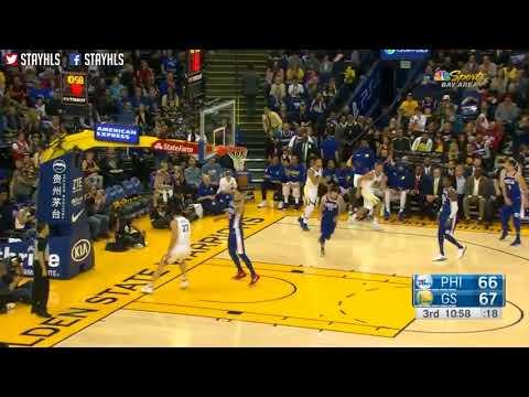 Golden State Warriors vs Philadelphia 76ers Full Game Highlights  Week 4  2017 NBA Season