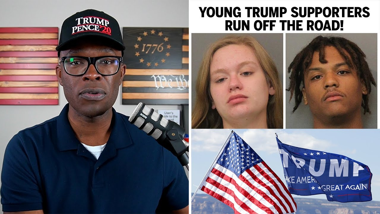 Young Trump Supporters RUN OFF THE ROAD in... MAGA Country? - ABL