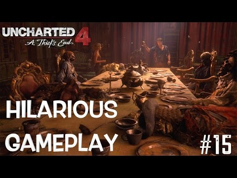 HILARIOUS UNCHARTED GAMEPLAY #15