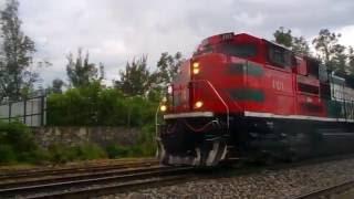 Ferromex SD70ACe 4101 cementero pasando por Las Juntas Tlaquepaque Jalisco