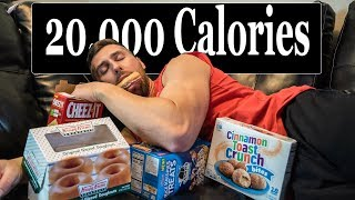 20,000 CALORIE CHEAT WEEKEND!