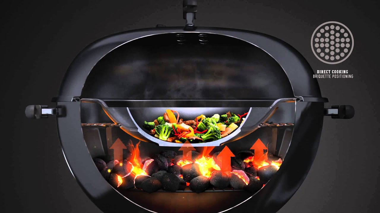 weber original gourmet bbq system valurauta wok youtube. Black Bedroom Furniture Sets. Home Design Ideas
