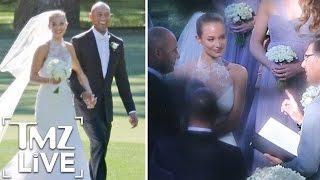 Derek Jeter & Hannah Davis Married | TMZ Live