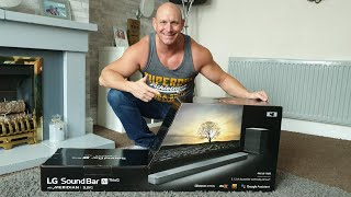 LG Soundbar SL8YG unboxing,setup,Atmos demo and vs LG C9 speakers