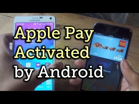 Apple Pay on iPhone 6 Connecting to Android Devices... WTF?