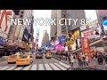 New York City 8K - VR 360 Drive