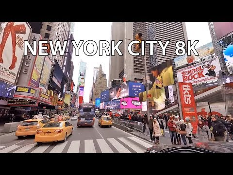 New York City 8K – VR 360 Drive