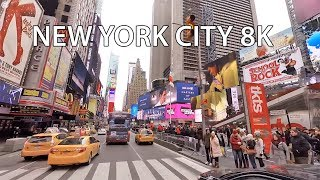 New York City 8K   VR 360 Drive