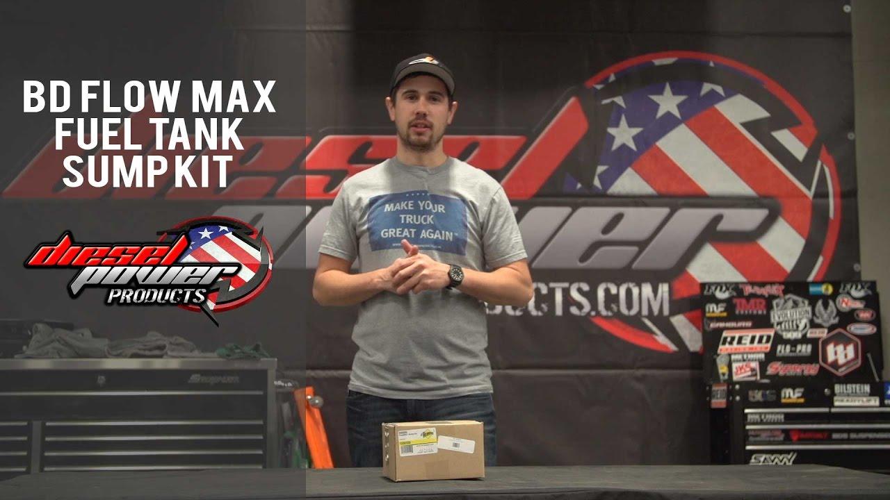 Bd Flow Max Sump Kit Youtube 02 Duramax Fuel Filter Replace Dieselppu Dieselpower