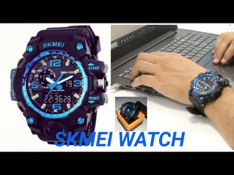 Skmei Sports Men Waterproof Wrist Watch LED Digital Watch.