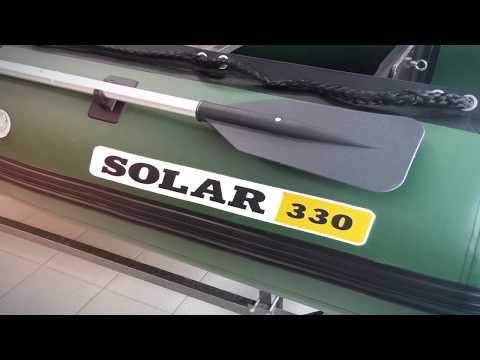 Обзор и распаковка лодки НДНД Solar-330 Максима