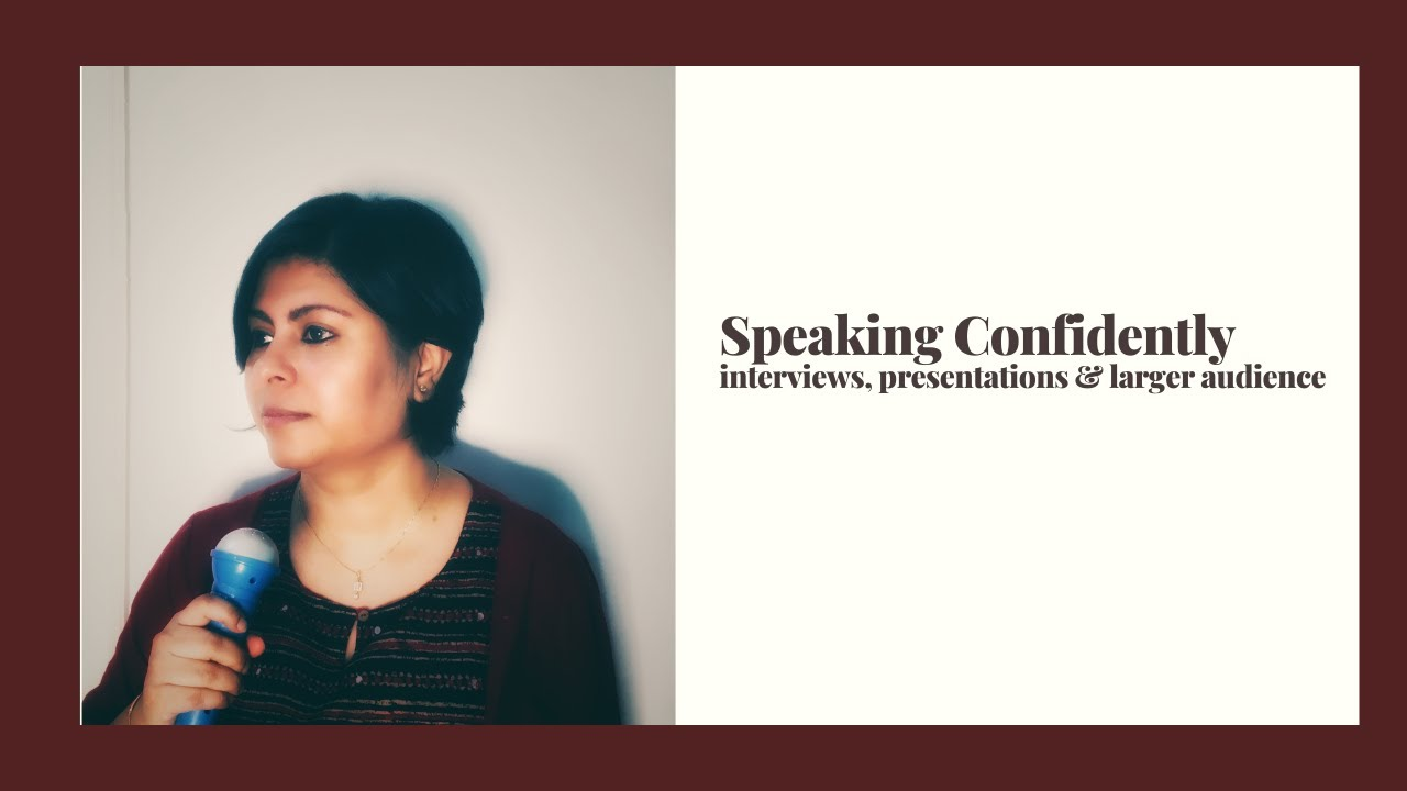 Speaking with Confidence|Basic 101-Speaking English| Be Ur Best Version
