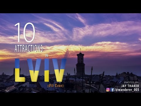 TOP 10 ATTRACTIONS YOU MUST SEE IN LVIV, UKRAINE (DON'T MISS IT!!!)