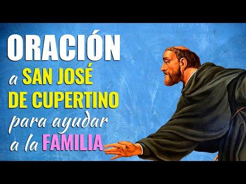 🙏 Oración a San José de Cupertino para AYUDAR A LA FAMILIA 👨👩👧👦