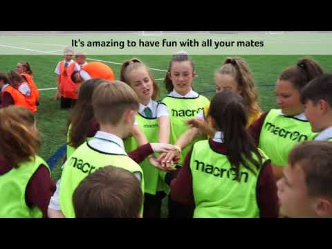 FAW Trust Video - Cics Cymru project aims to inspire the next generation
