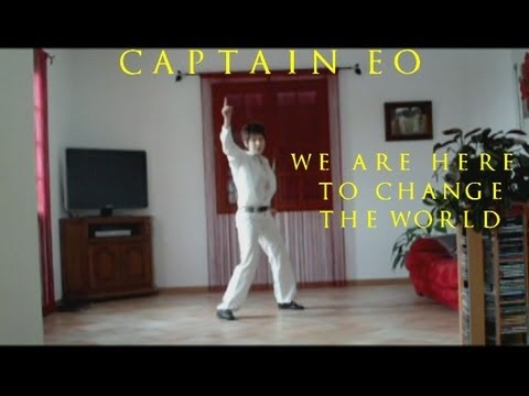 Michael Jackson - We Are Here To Change The World (Captain EO) - Girl Impersonator