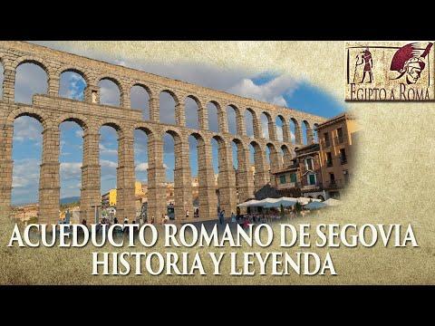 El acueducto romano de Segovia  historia y leyenda