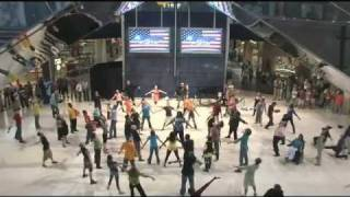 America's Got Talent Flash Mob