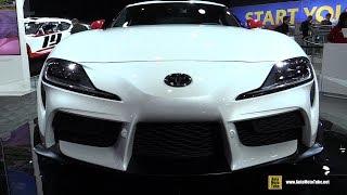 2020 Toyota Supra - Exterior and Interior Walkaround - Debut at Detroit Auto Show 2019