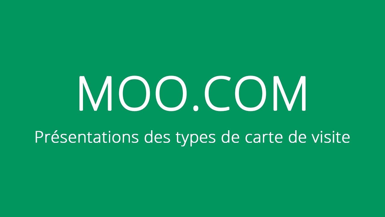 Presentation Moo Carte De Visite