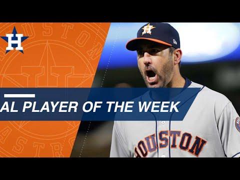 AL Player of the Week: Verlander