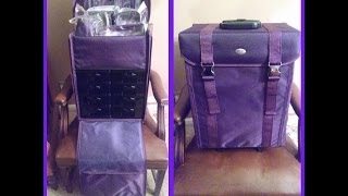 Review: Purple Yazmo Soft Sided Rolling Makeup Case Thumbnail