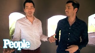 HGTV s Property Brothers Fully Renovated House I Hollywood at Home | People