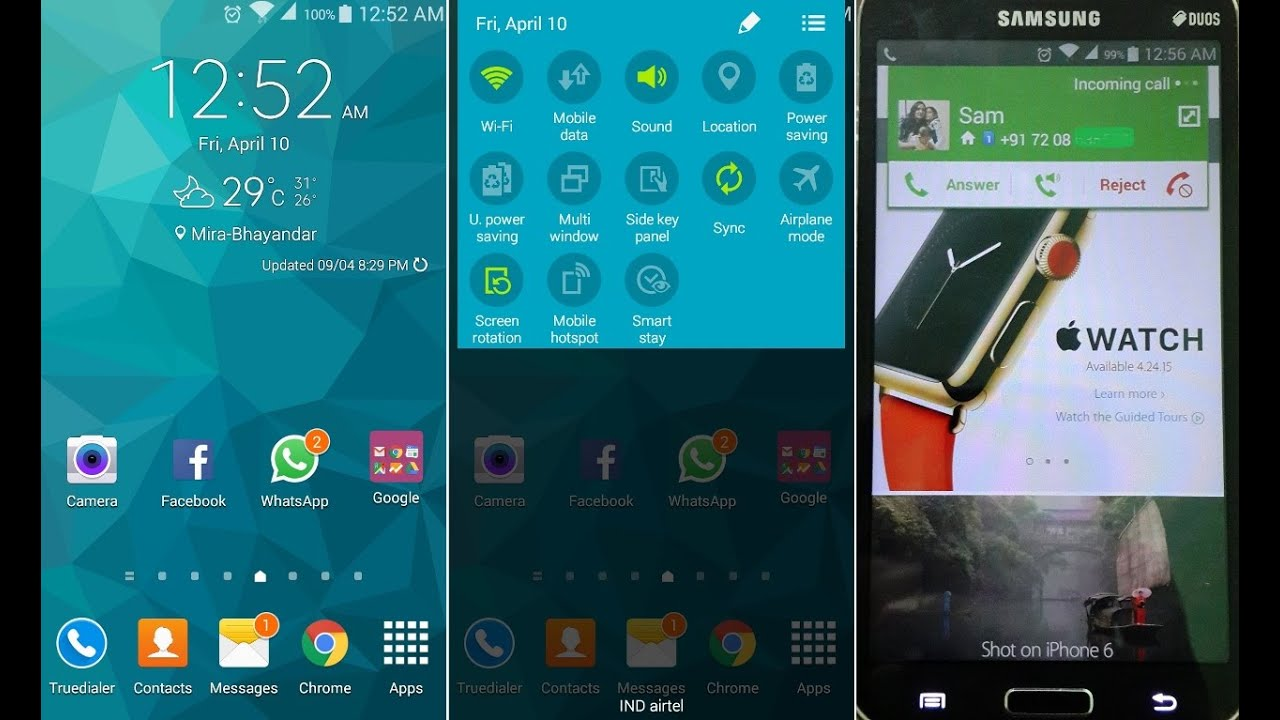 Samsung Galaxy Grand 2 - Rooting and Installing Galaxy Note 4 Custom ROM