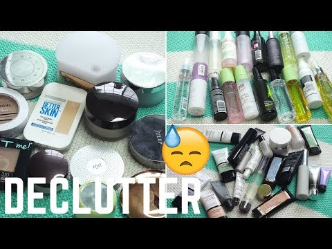 MAKEUP DECLUTTER │ PRIMERS, POWDERS & SPRAYS