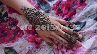 Eidul-Fitr henna tutorial 2015/1436