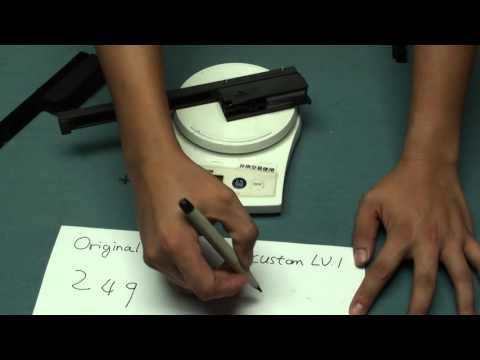 Ra Tech Scar H Steel Bolt And Custom LV1 LV2 Debut