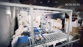 MUJINコンビニ中食ピッキング&番重搬送システム~物流革命 低温環境での仕分け作業を完全自動化~
